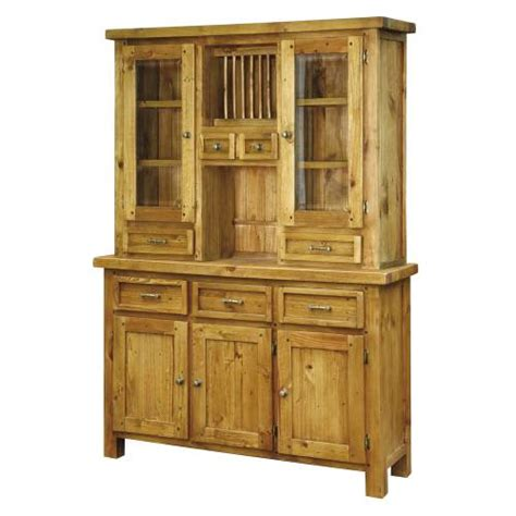 cottage pine furniture chunky pine dresser set review