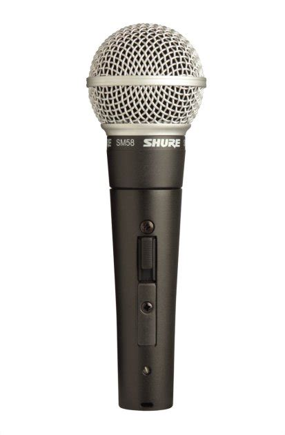best vocal mic shure sm58 dynamic handheld microphone sm58s lc with on