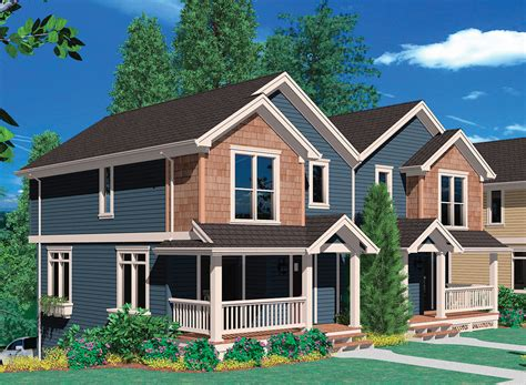 hillside house plans with drive under garage hillside double garage tucked into hillside 69388am 2nd floor