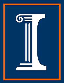of illinois colors colleges and universities logos
