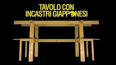 tavolo fai da te legno tavolo in legno con incastri giapponesi fai da te 0x05