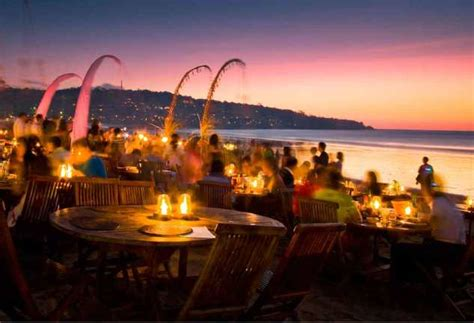 romantic spots   impeccable bali sunset bali