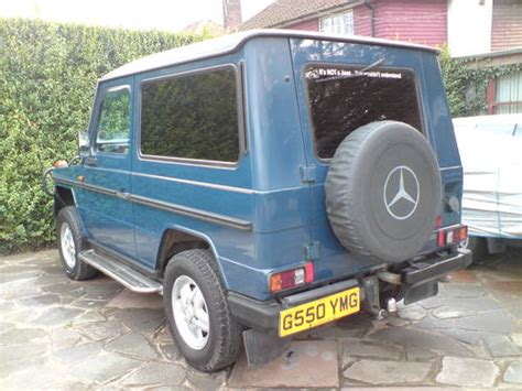 Sale G 1989 mercedes g wagon 280 ge auto sold car and classic