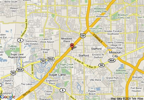 stafford texas map map of homewood suites by houston stafford stafford