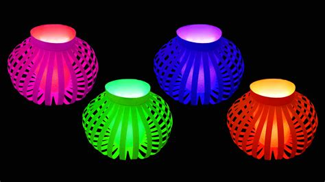 how to make fancy paper lantern ball christmas crafts