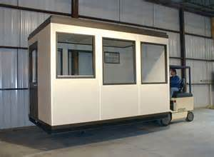 a wall forkliftable modular office buildings