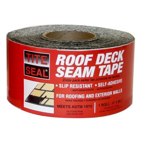 shop tite seal roof deck 66 7 ft roof seam at lowes