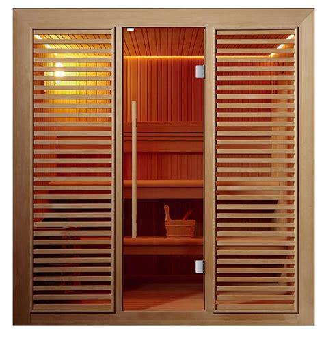 Cabine Sauna 1508 by Sauna Shower Combination Cabin Wooden Traditional Saunas