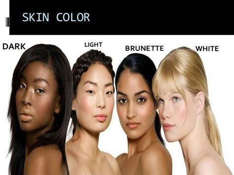 describing skin color features esl vocabulary