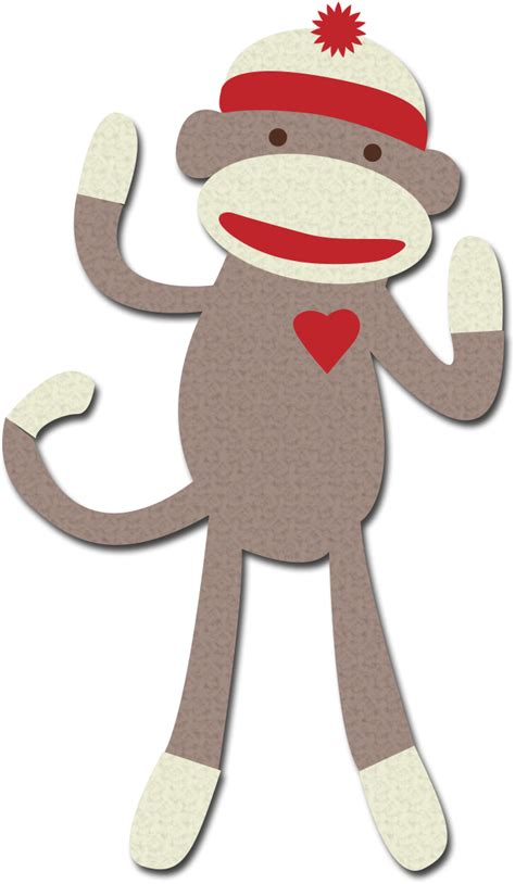 Free Printable Sock Monkey Clip sock monkey clipart free collection