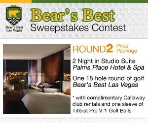 Golf Trip Sweepstakes - win a golf vacation in las vegas 171 win las vegas prizes sweepstakes and contests