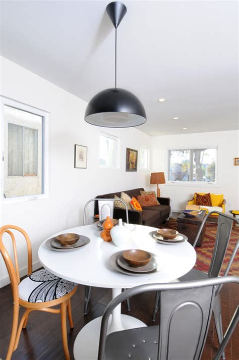 eclectic vintage global modern dining room eclectic