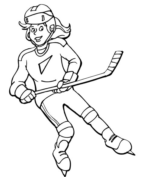 Free Printable Hockey Coloring Pages For Kids Free Hockey Coloring Pages