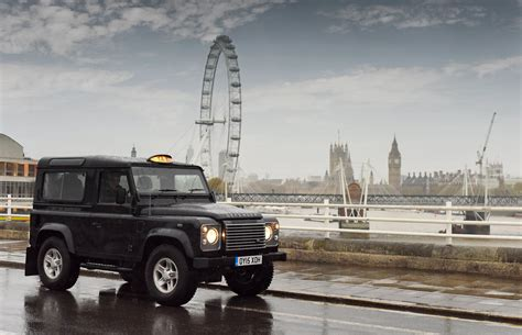 land rover london news land rover defender taxi for london