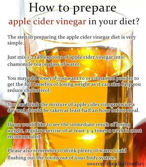 Apple Cider Detox Diet Recipe by Apple Cider Vinegar Drink Recipe Weight Loss