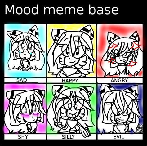 Mood Meme - mood meme base fedy by fedyrebyforever on deviantart