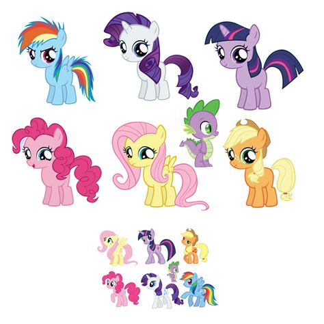 stiker sticker pony my pony removable wall decal sticker set 7 5