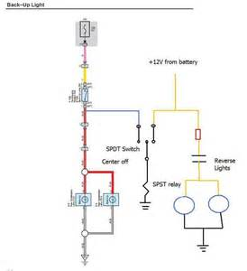 wiring diagram for lights back up light wiring diagram auto info