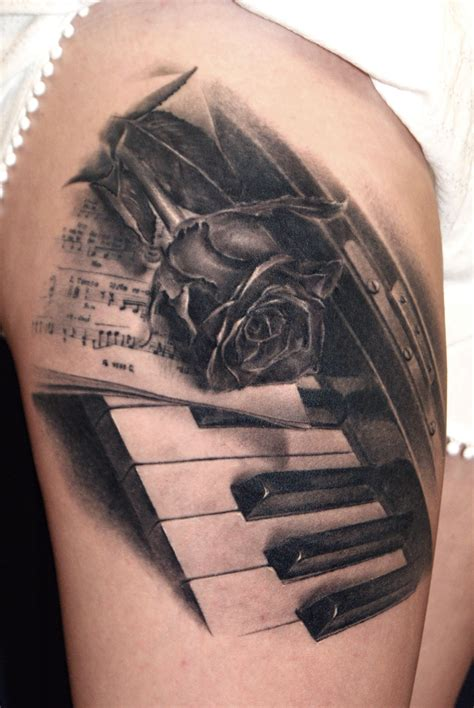 keyboard tattoo robert litcan certified artist