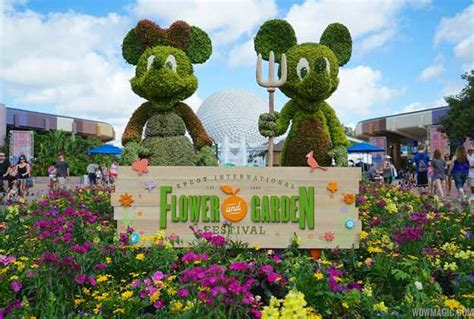 disney flower and garden festival photos 2016 epcot flower and garden festival