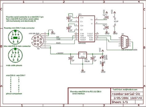 roomba parts diagram hacking roomba 187 build a roomba serial tether
