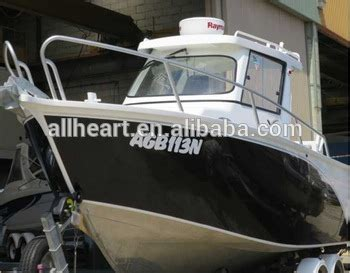 half cabin aluminium boats for sale 23ft aluminum half cabin fishing boat for sale buy