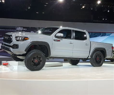 2016 Toyota Tacoma Trd Pro 2017 Toyota Tacoma Trd Pro Bows In Chicago