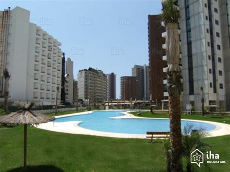 appartments in benidorm flat apartments for rent in benidorm iha 57280