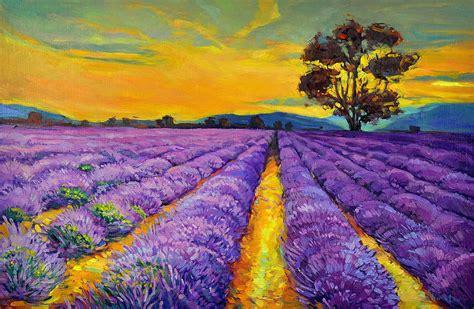 lavendar paint lavender painting by ivailo nikolov