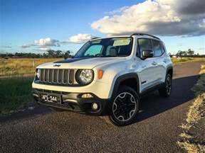 Review Of Jeep Renegade 2016 Jeep Renegade Trailhawk Review Caradvice