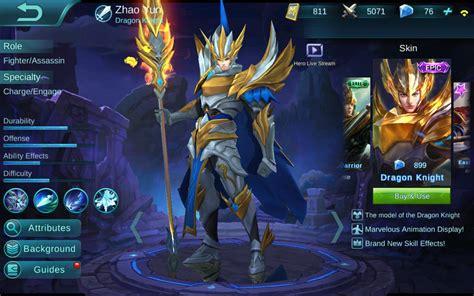 tutorial zilong off meta zhao yun guide mobile legends bang bang wikia