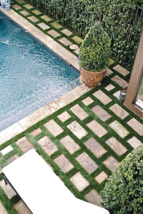 grass for patio subway patio pavers green grass grout garden landscape patio wood decks and