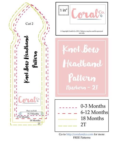 pattern for sewing headbands knotted bow headband pattern and tutorial free pattern