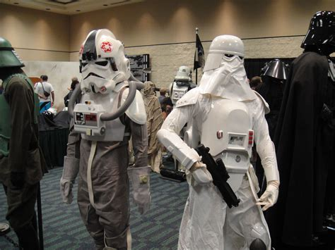 at at costume file wars celebration v 501st room at at driver and snowtrooper costumes