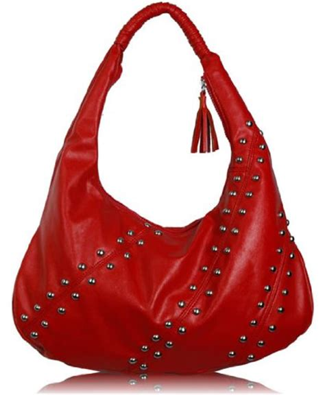 Designer Purse Deal Cannage Hobo Bag by Studded Hobo Designer Shoulder Handbag
