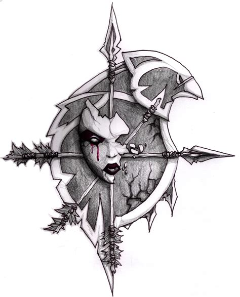 forsaken tattoo will of the forsaken by kryss on deviantart