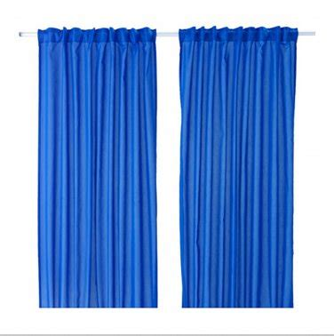 ikea curtain length ikea vivan curtains drapes dark blue 2 panels 98 quot length