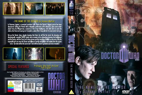 Dvd Who Are You the name of the doctor covers
