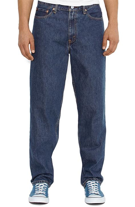 comfort fit mens jeans levi s men s 560 comfort fit jeans dark stonewash