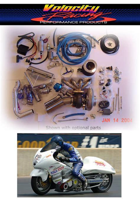 Suzuki Gsxr 750 Turbo Kit Velocity Racing Suzuki Gsxr 1300 Hayabusa Turbo Kit Stage