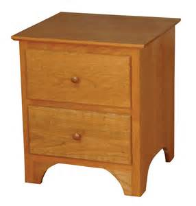 Hutch Bookcase Shaker Nightstand Amish Furniture Designed