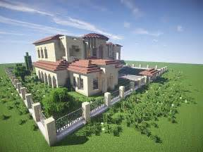 House Building Ideas california mansion minecraft house design