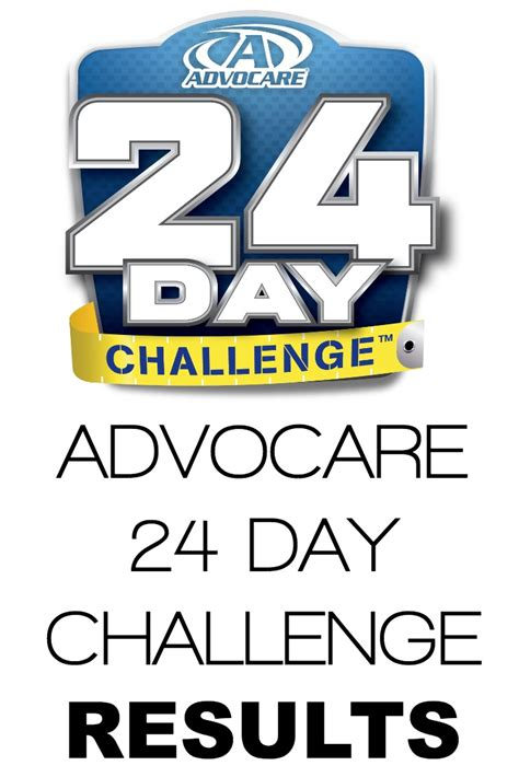 24 day challenge results advocare 24 day challenge results a merry