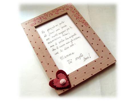 cornici regalo cornice portafoto country cuore regalo per la mamma per
