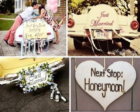 Just Married Autoschild Mit Dosen by Vintage Wedding Vintage Wedding 799222 Weddbook