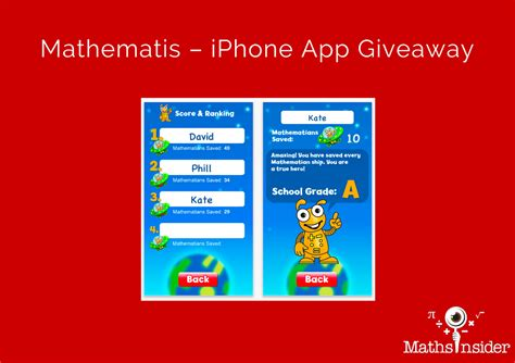 Iphone App Giveaway - mathematis iphone app giveaway maths tips from maths insider