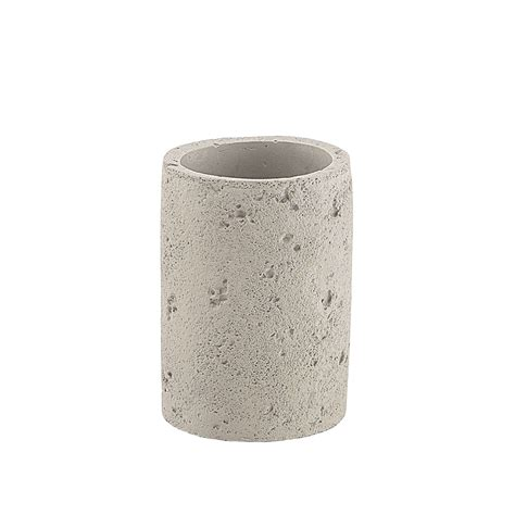 gedy arredo bagno gedy porta spazzolini in cemento grigio grezzo arredo