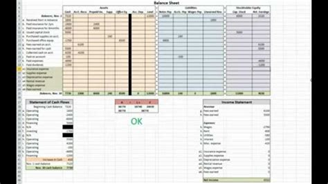 double entry accounting spreadsheet laobingkaisuo com