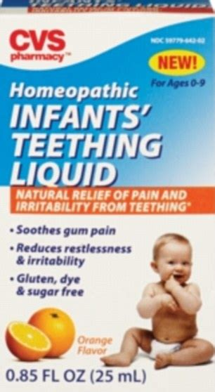 Homeopathic Remedies Warning For homeopathic teething remedies cause seizures in babies
