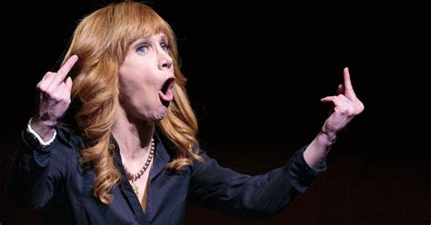 Kathy Griffin Eats It by Kathy Griffin S Bloody Photo Gets The To